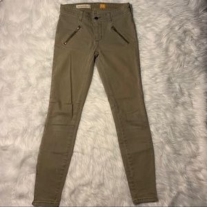 ANTHROPOLOGY PILCRO AND THR LETTERPRESS JEANS 25